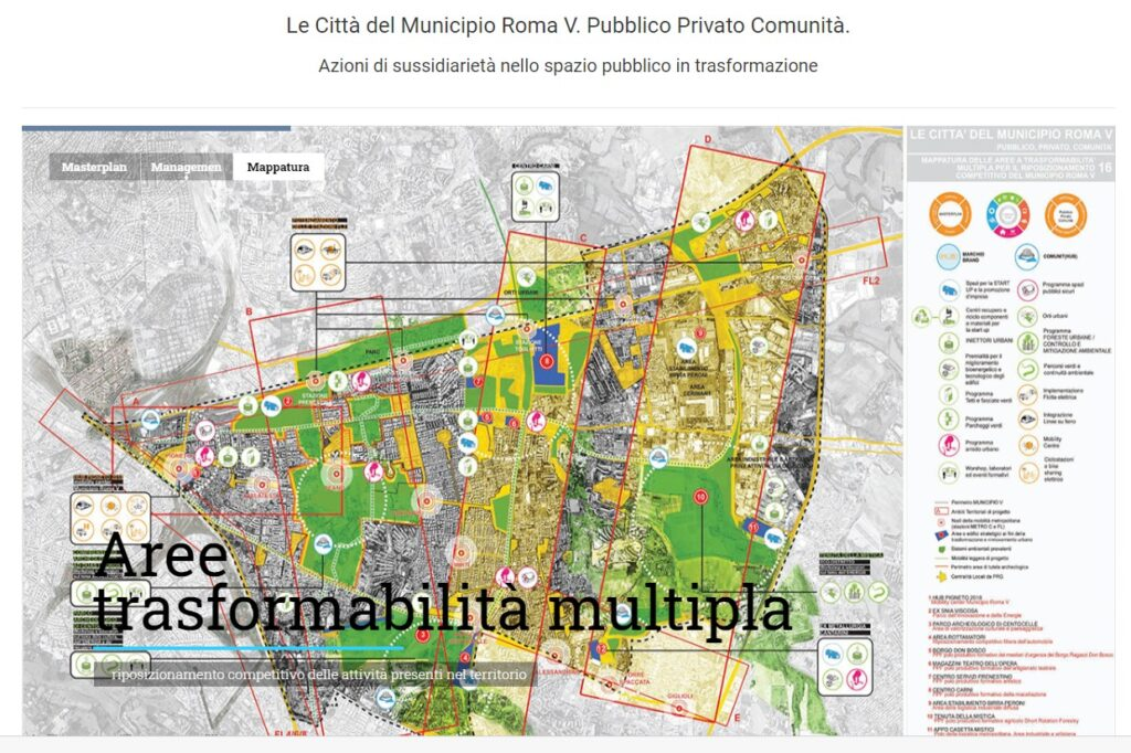 Masterplan del V municipio